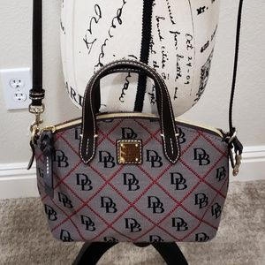 Dooney Bourke, Signature Quilt Ruby Small Bag